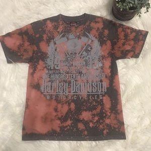 Harley-Davidson Distressed Bleached T-Shirt